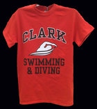 T-SHIRT CLARK SWIMMING & DIVING