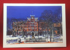 NOTE CARD JONAS CLARK HALL WINTER LANDSCAPE