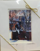 PRINT MATTED 11 X 14 FREUD WINTER